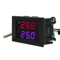 Temperature Controller - LED Display - 12VDC