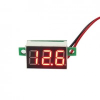 Mini Voltmeter - 4.5V - 30VDC - 2 Wire