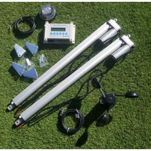 Dual Axis Solar Panel Tracker Sun Tracking System