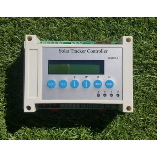 Dual,Axis,Solar,Panel,Tracker,Sun,Tracking,System