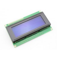 LCD Screen - 20x4 Character Display - Blue Backlight