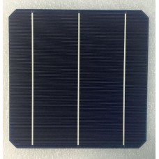Solar Cell - Monocrystalline - 156x156mm - 3 Busbar
