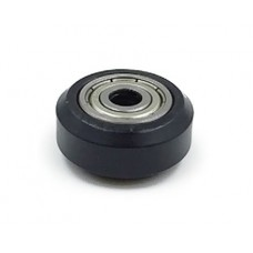 3D Printer - Plastic Wheel Pulley - Black