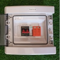 PV Combiner Box - 1 String Input - 1 Output - Low voltage - 135VDC