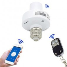 Sonoff - Wifi and 433MHz RF Remote Control Lamp Holder - E27 - 220VAC