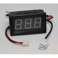 Panel Amp Meter - 0 - 9.99Amp DC
