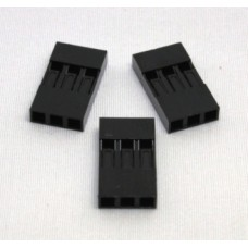 Dupont Connector Housing - 3Pin - Female