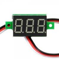 Panel - Mini Voltmeter - 0 - 100VDC