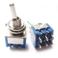 Toggle Switch - On/Off - DPDT