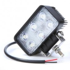 LED - 18Watt - Work/Spot Light - Rectangle