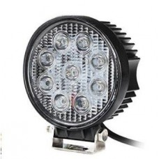 LED - 27Watt - Work/Spot Light - Round