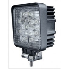 LED - 27Watt - Work/Spot Light - Square