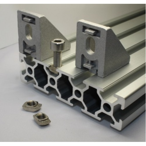 Product Aluminium Sections : Alum extrusion profile angle bracket