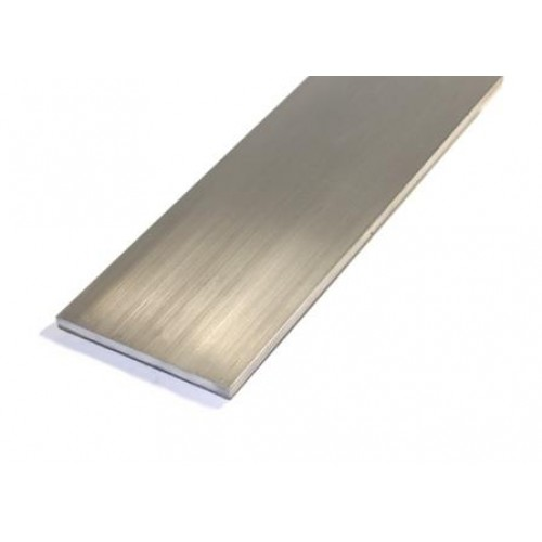 Flat bar alum aluminium stock