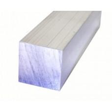 Aluminium - Square - Bar - 25.4mm